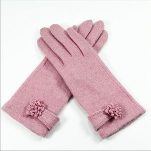 Accessories - 💕COMING SOON💕 CASHMERE Lux Winter Gloves Pink